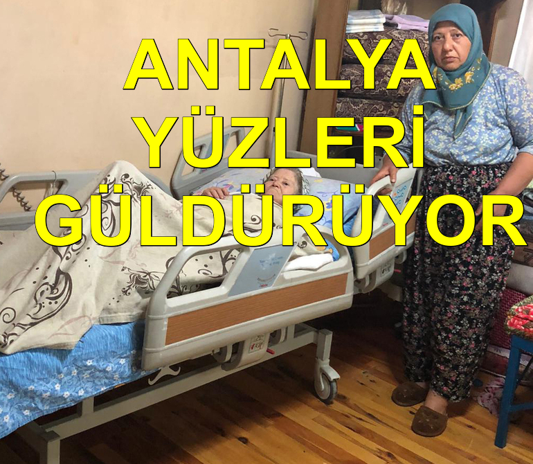 Antalya Büyükşehir vatandaşların yüzünü güldürüyor