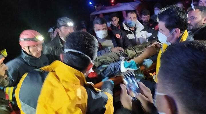 Antalya'da bir kişi, kaybolduktan 38 saat sonra yaralı halde bulundu