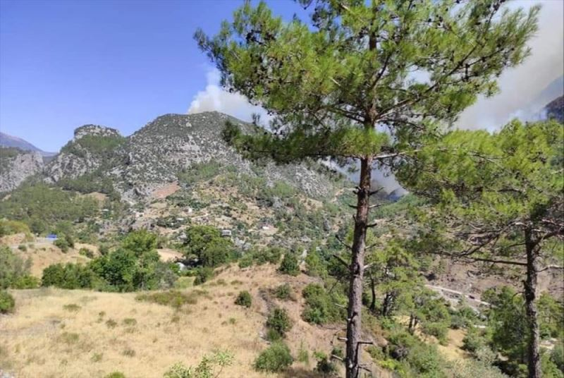 Antalya'da bir mahalle tahliye edildi, 33 kişi yurda yerleştirildi