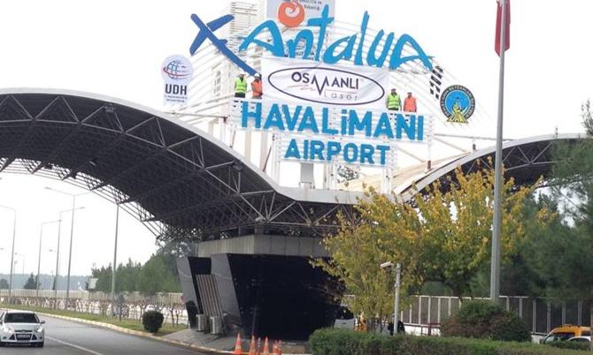 Antalya'ya Ekim ayının ilk haftasında 250 bin turist geldi