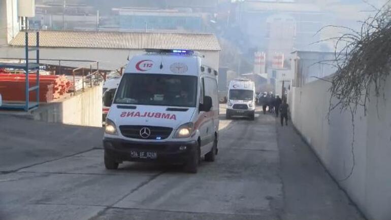 Arnavutköy'de fabrikadaki patlamada yaralanan işçi yaşamını yitirdi
