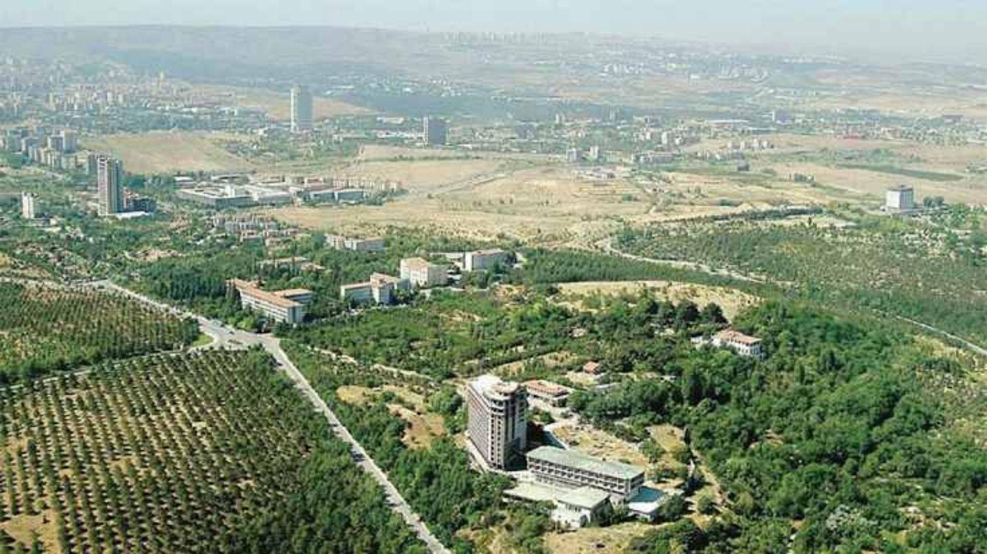 Atatürk Orman Çiftliği'nin 70 dönümü kiraya çıkarıldı