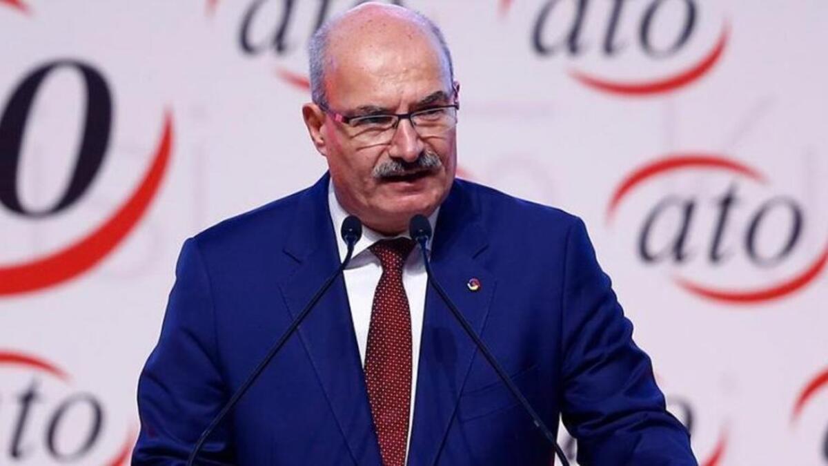 ATO Başkanı Baran: Çekte garanti 50 bin liraya yükseltilsin