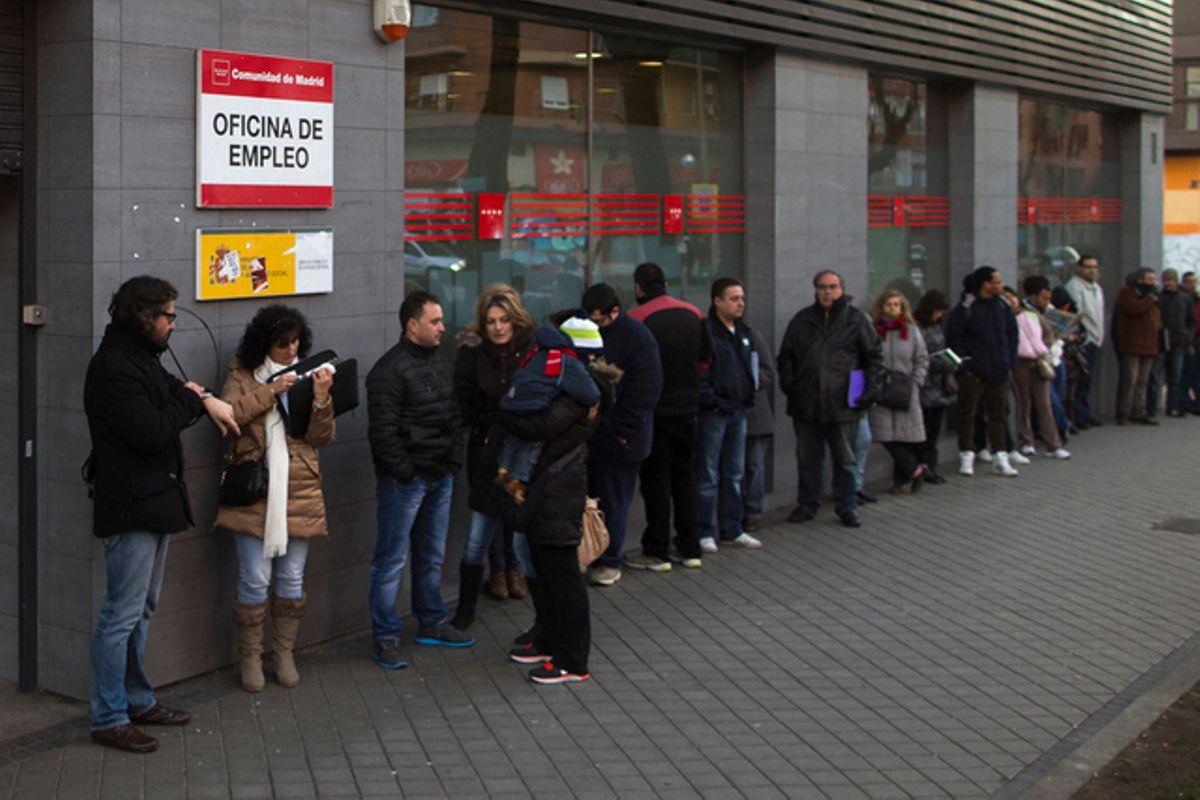 Avro bölgesinde işsizlik oranı 7.4'e yükseldi