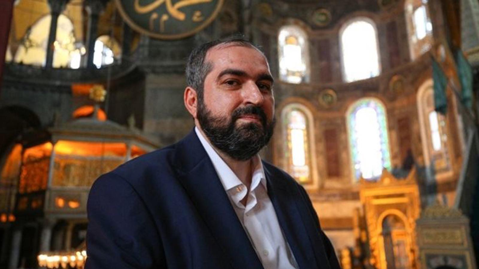 Ayasofya Camii Baş İmamı Mehmet Boynukalın görevden ayrıldı