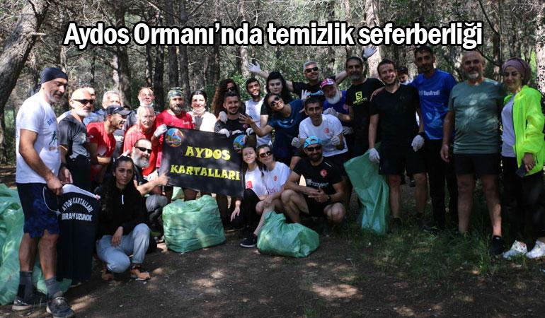 Aydos Ormanı'nda temizlik seferberliği
