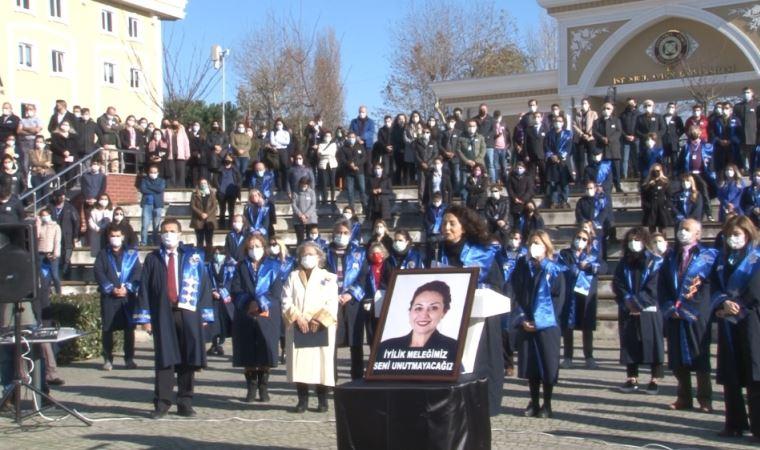 Aylin Sözer için  üniversitede anma töreni düzenlendi