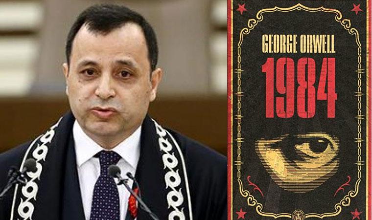 """AYM Başkanı Arslan'dan """"1984"""" göndermeli çarpıcı """"Adalet"""" uyarısı"""