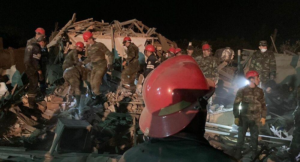 Azerbaycan'ın Gence ve Mingeçevir kentlerine füze saldırısı: 2'si çocuk 12 sivil öldü, 40 yaralı