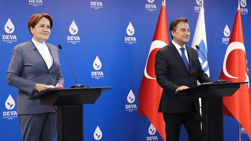 Babacan ve Akşener'den ortak açıklama