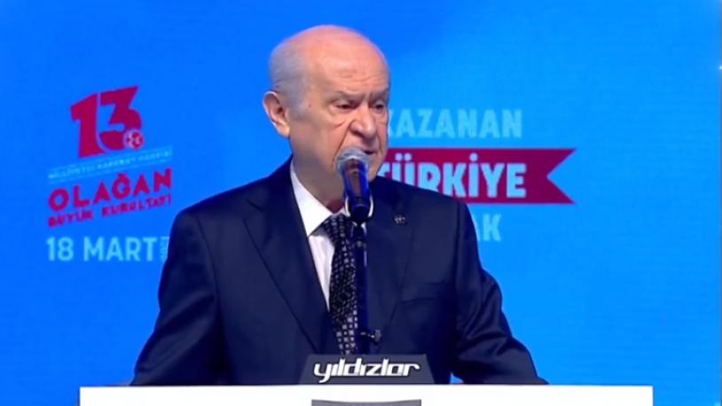 Bahçeli: HDP bir daha açılmamak üzere kapatılmalı