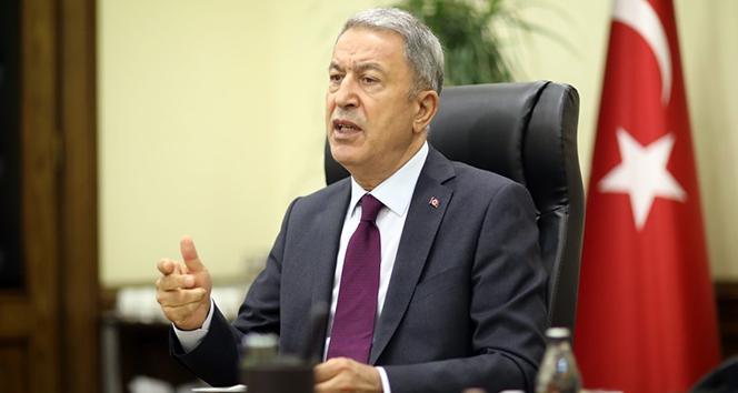 Bakan Akar'dan Türk gemisinde hukuk dışı aramaya tepki