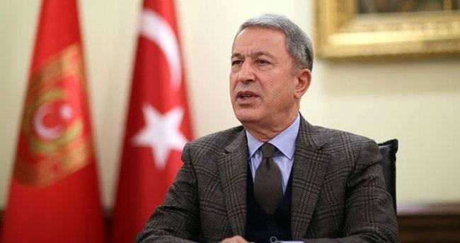 Bakan Akar: Türkiye Doğu Akdeniz'de Yunanistan ile yaşadığı sorunu diyalogla çözmek istiyor