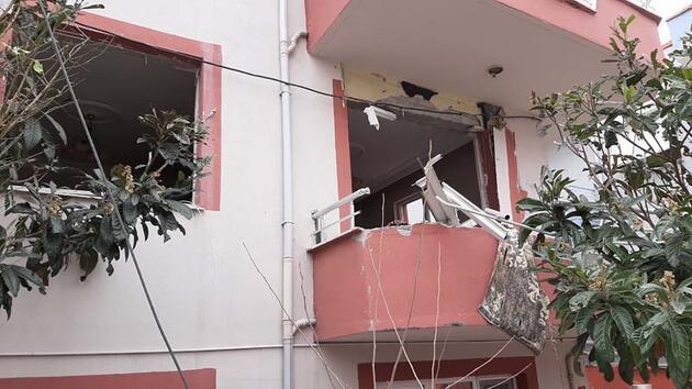 Balıkesir'de doğal gaz patlaması: 9 dairede hasar oluştu