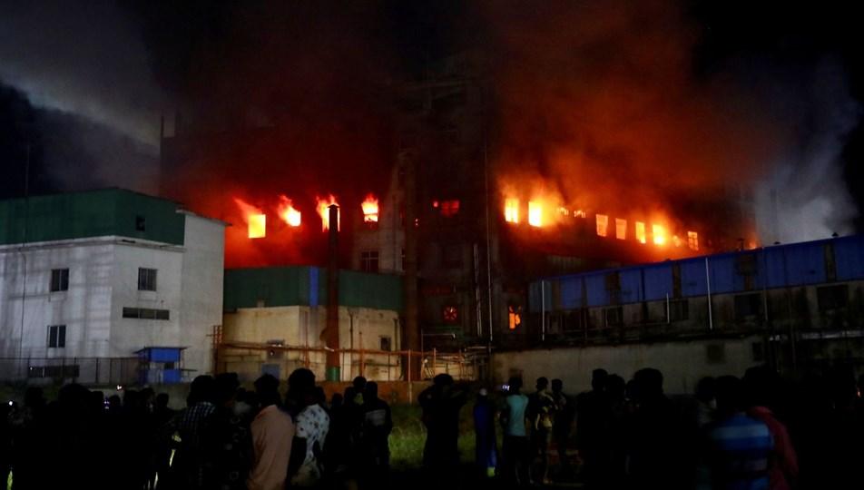 Bangladeş'te fabrika yangını: En az 40 ölü