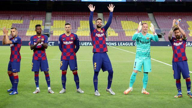 Barcelonalı futbolcu koronavirüse yakalandı