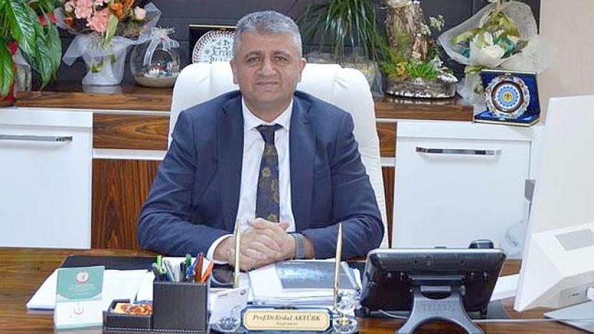 Başhekim Prof. Dr. Aktürk Covid-19'a yakalandı
