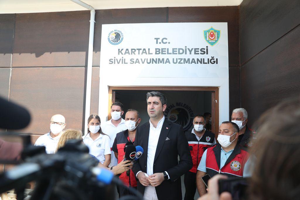 Başkan Gökhan Yüksel'den Sivil Savunma Uzmanlığı'na Teşekkür Ziyareti