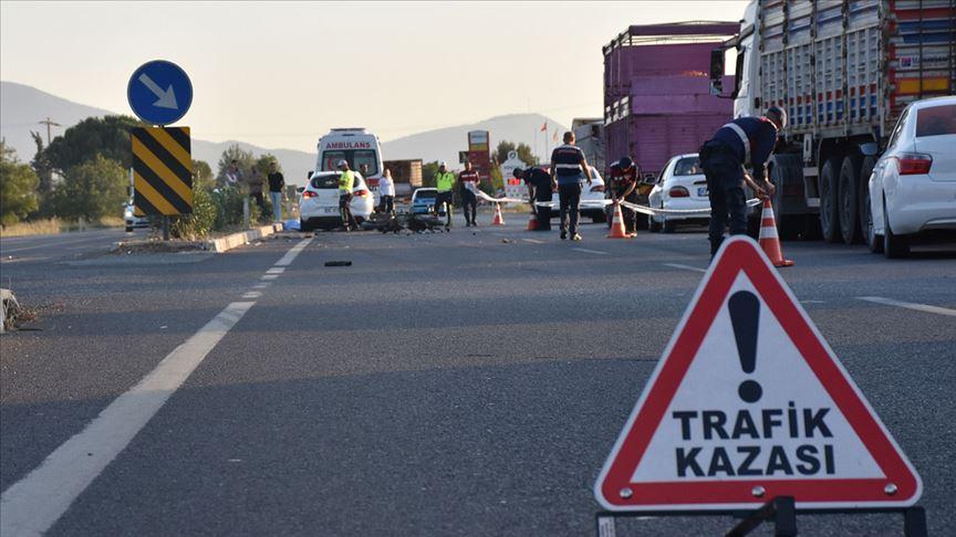 Bayram tatilinde altı günün kaza bilançosu: 30 ölü, 210 yaralı