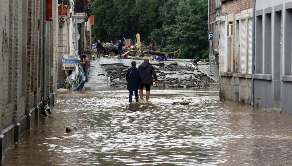 Belçika'da sellerde ölenlerin sayısı 37'ye çıktı