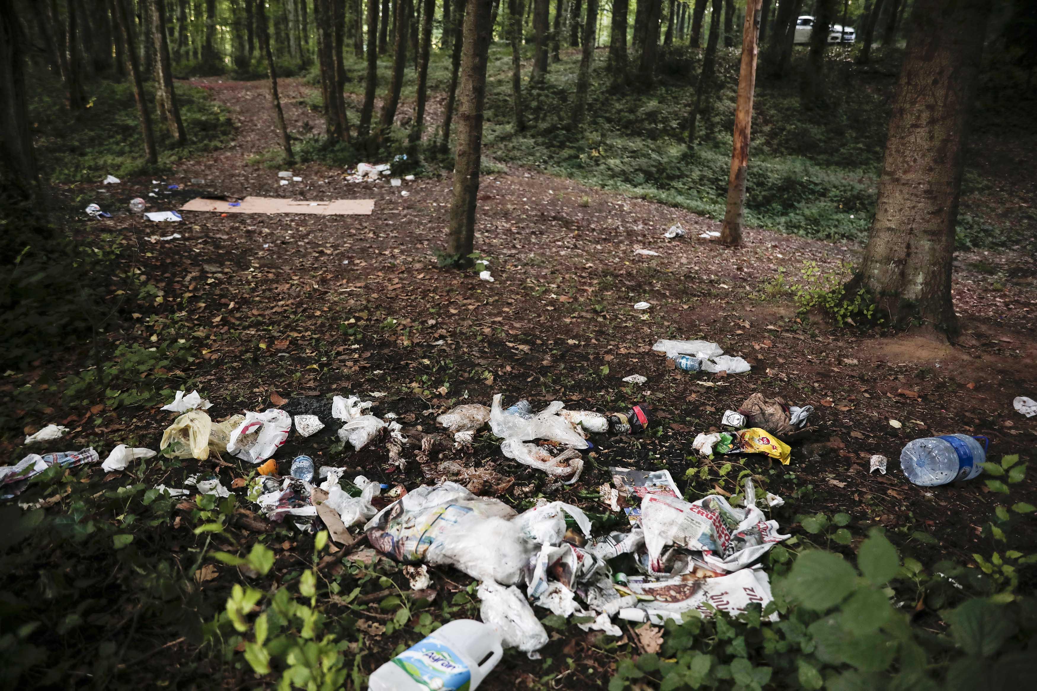 Belgrad Ormanı çöplüğe döndü!