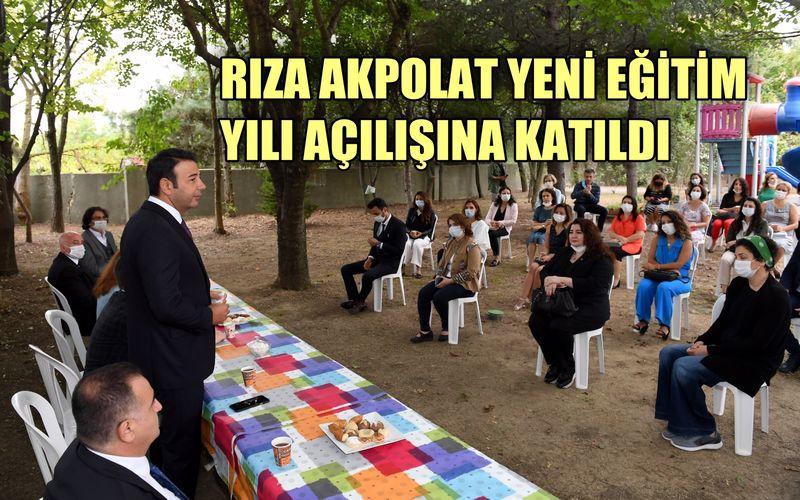 Beşiktaş Belediye Başkanı Rıza Akpolat yeni eğitim yılı açılışına katıldı