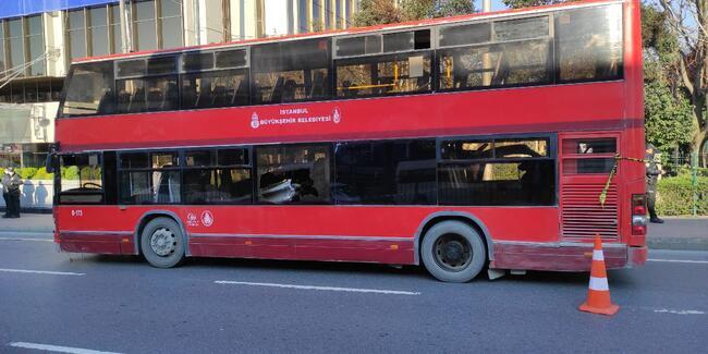 Beşiktaş'ta çift katlı İETT otobüsü kaza yaptı: 1 ölü, 1 yaralı