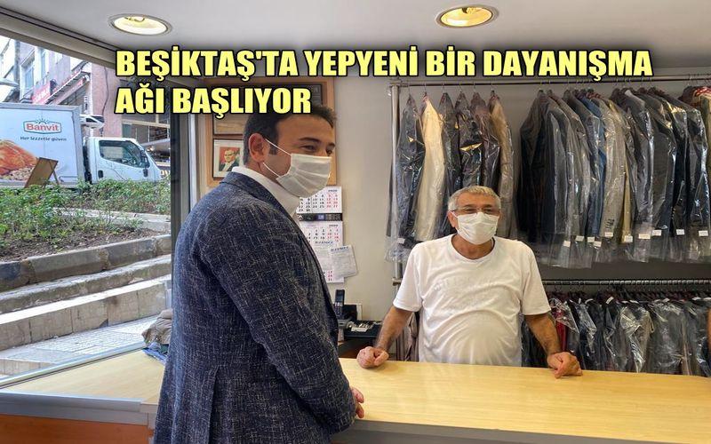 Beşiktaş'ta yepyeni bir dayanışma ağı başlıyor