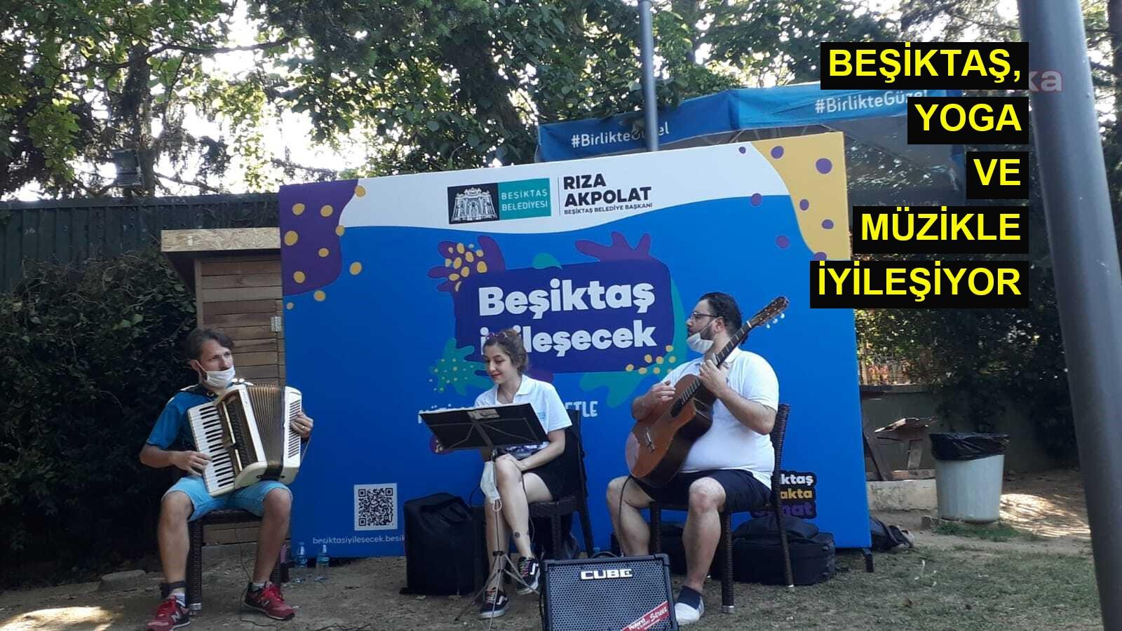 Beşiktaş, yoga ve müzikle iyileşiyor