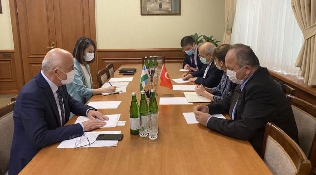 Bilim Kurulu üyeleri destek için Özbekistan'da