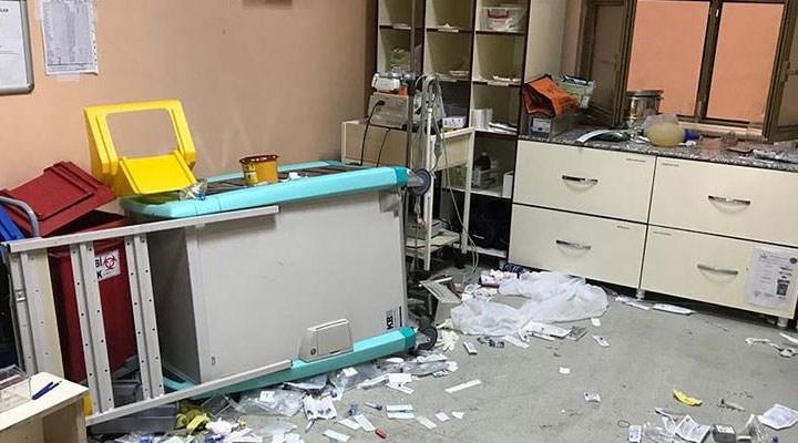 Bingöl'de 112 Acil Sağlık ekibine taşlı ve sopalı saldırı