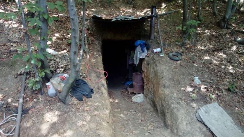 Bir işçinin öldüğü ruhsatsız ocağı işleten şahıs tutuklandı