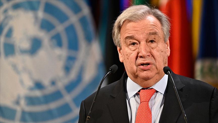 BM Genel Sekreteri: Milyonlarca ölümden kaçınmak için Taliban'la diyaloğa başlamalıyız