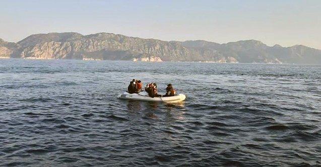 Bodrum açıklarında 30 düzensiz göçmen kurtarıldı