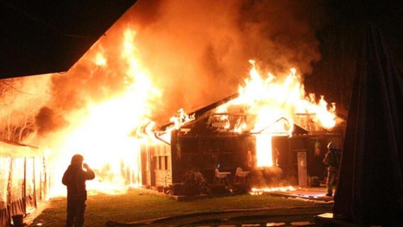 Boğaziçi Üniversitesi'ndeki kafeteryada yangın