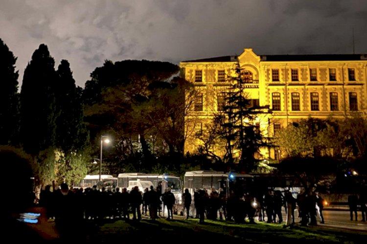 Boğaziçi Üniversitesi'ndeki protestolarda gözaltına alınanların tamamı serbest bırakıldı