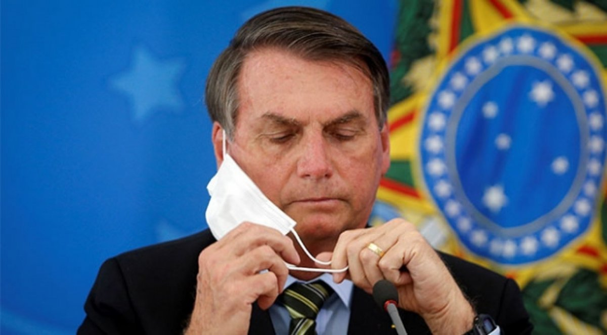 Brezilya Devlet Başkanı Bolsonaro kovid-19'u yendi