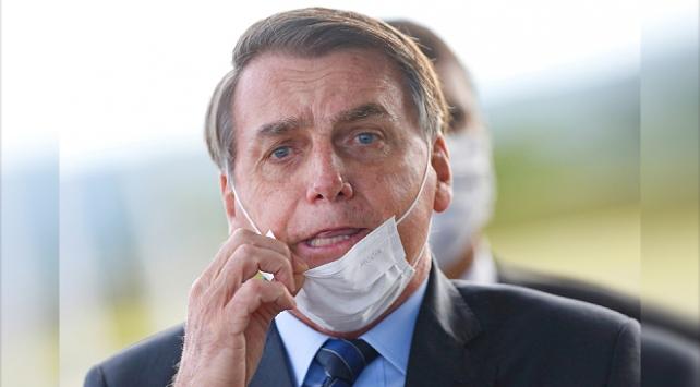 Brezilya Devlet Başkanı Bolsonaro'nun Covid-19 testi üçüncü kez pozitif çıktı
