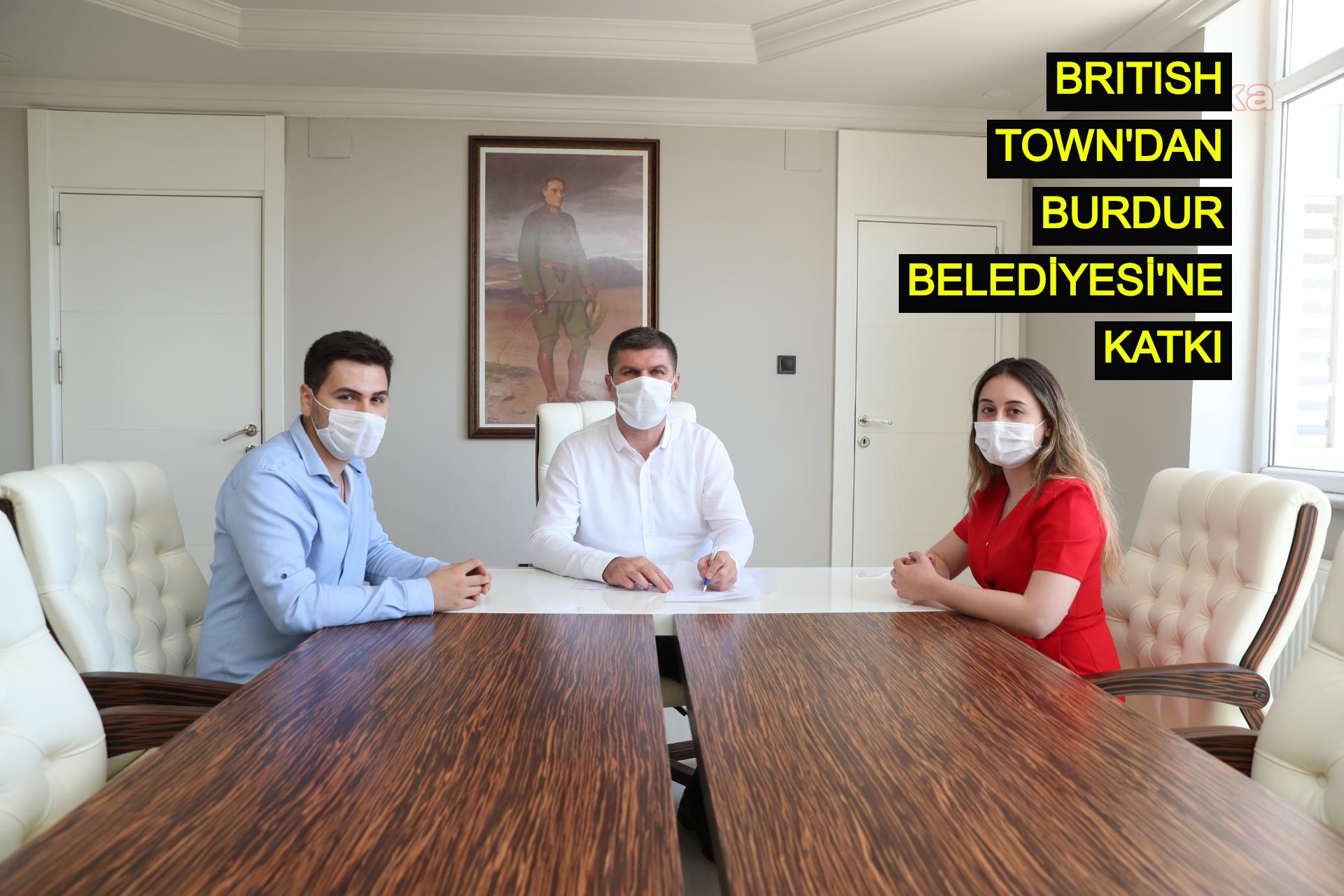 British Town'dan Burdur Belediyesi'ne katkı