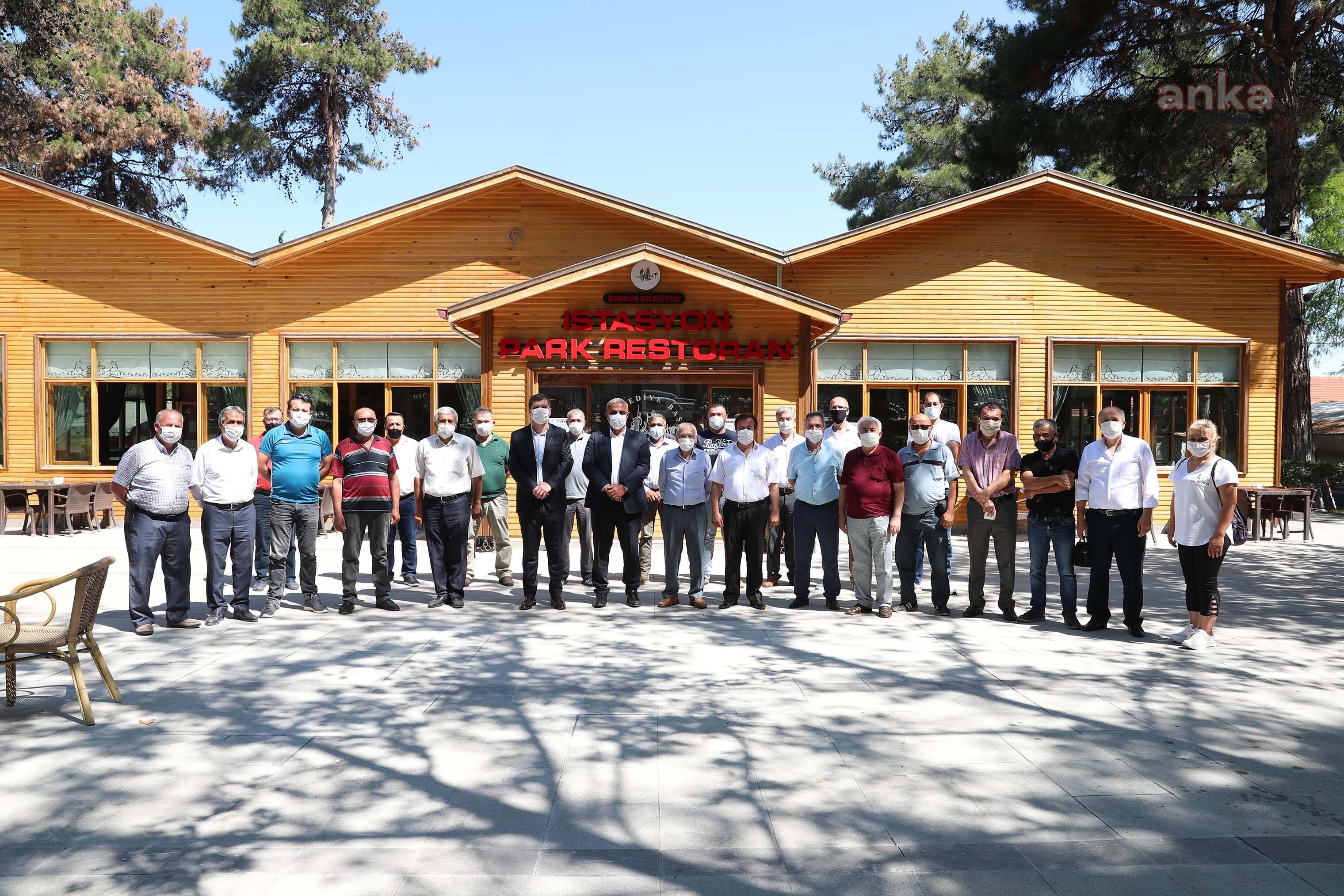 Burdur Belediye Başkanı Ercengiz, Esnaf Odaları ile bir araya geldi