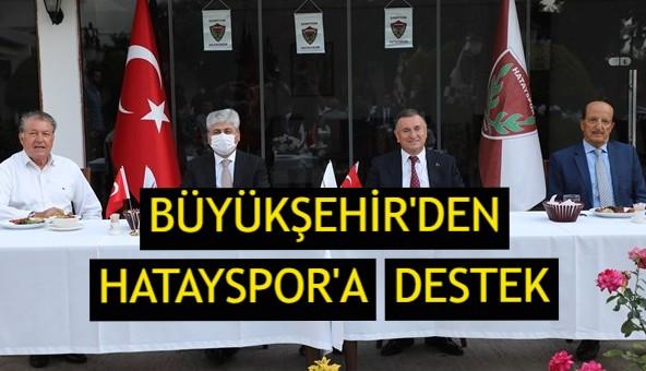 Büyükşehir'den Hatayspor'a destek