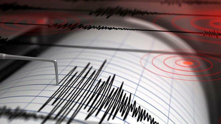 Çanakkale'nin Biga ilçesinde 4 büyüklüğünde deprem