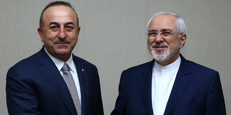 Çavuşoğlu, İran Dışişleri Bakanı Zarif ile bir araya geldi