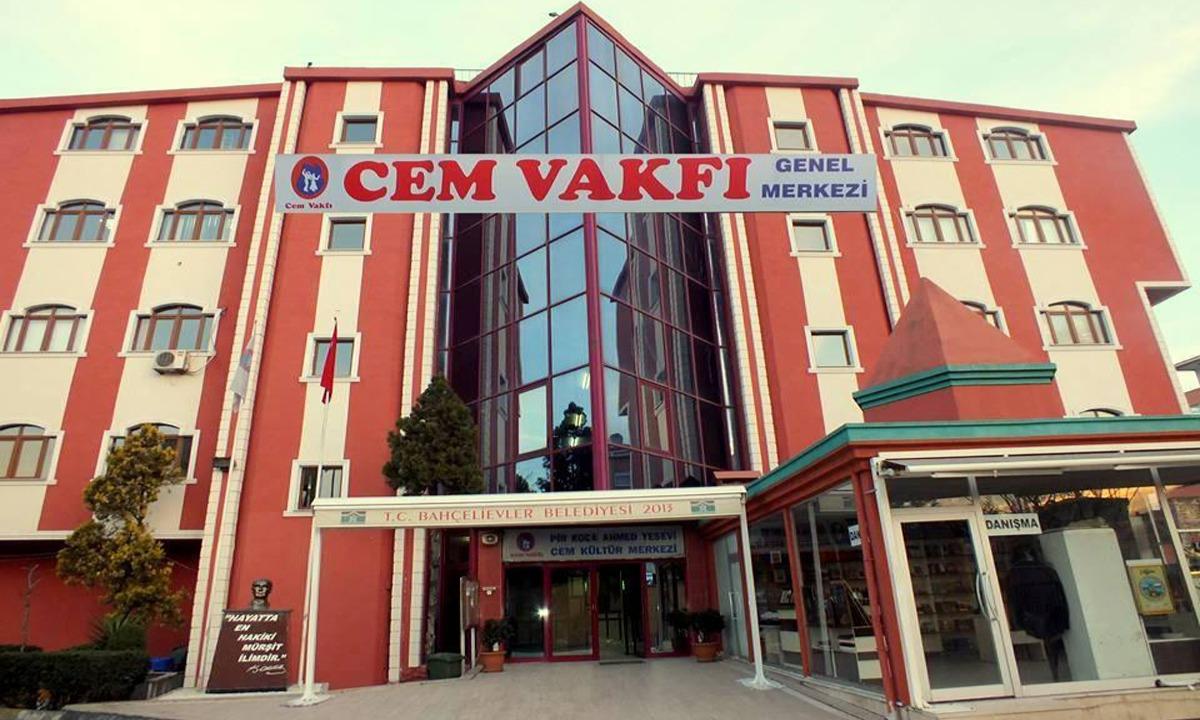 Cem Vakfı'ndan provokasyon girişimine karşı açıklama yayınlandı