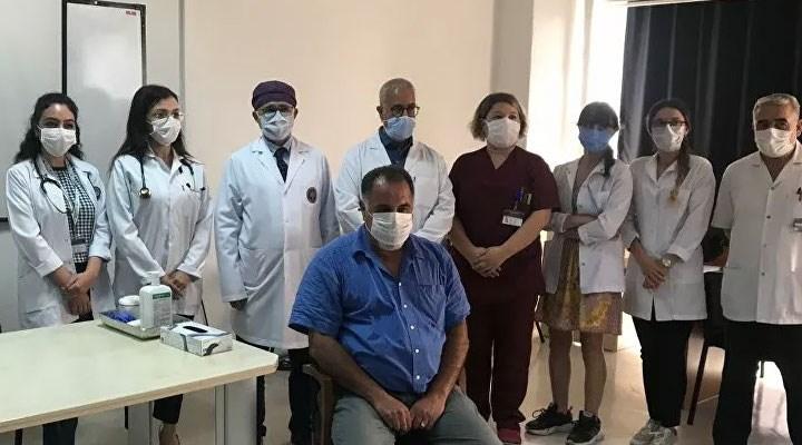 Cerrahpaşa'da ilk gönüllü aşılama yapıldı