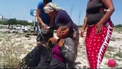 Çeşme'de Roman vatandaşların çadırları yıkıldı: Biz bu vatanın insanı değil miyiz?