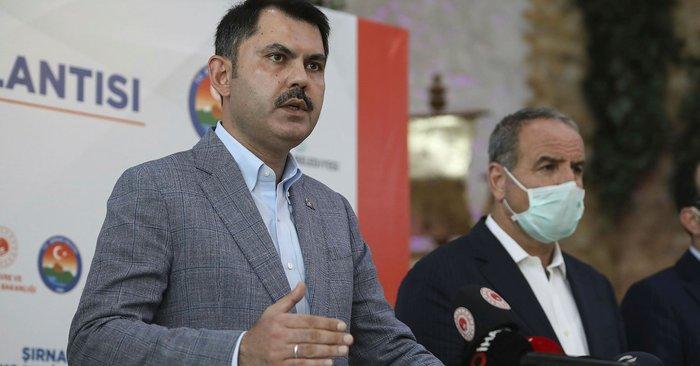 Çevre ve Şehircilik Bakanı Kurum: Hasarlı binaların yıkım süreçlerini başlattık