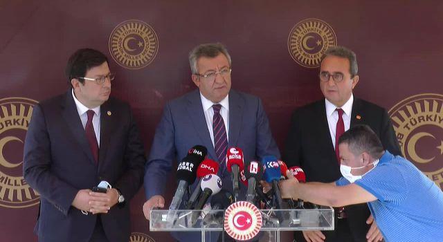 CHP, Berberoğlu'nun Meclis'e dönmesi için Şentop ile görüştü