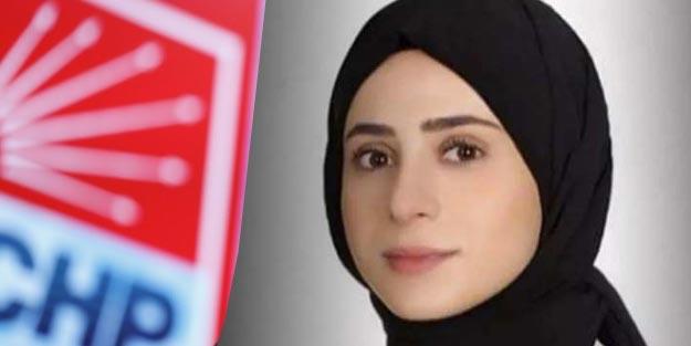 CHP'de bir ilk: PM'ye giren ilk başörtülü siyasetçi oldu