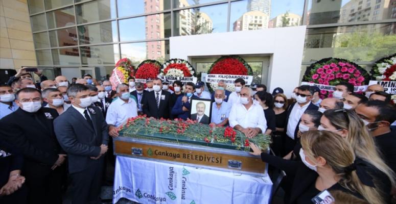 CHP'li Doğan Taşdelen son yolculuğuna uğurlandı